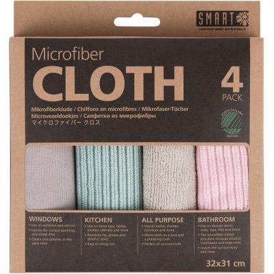 Microfiber cloth 4-pack – Smart Microfiber
