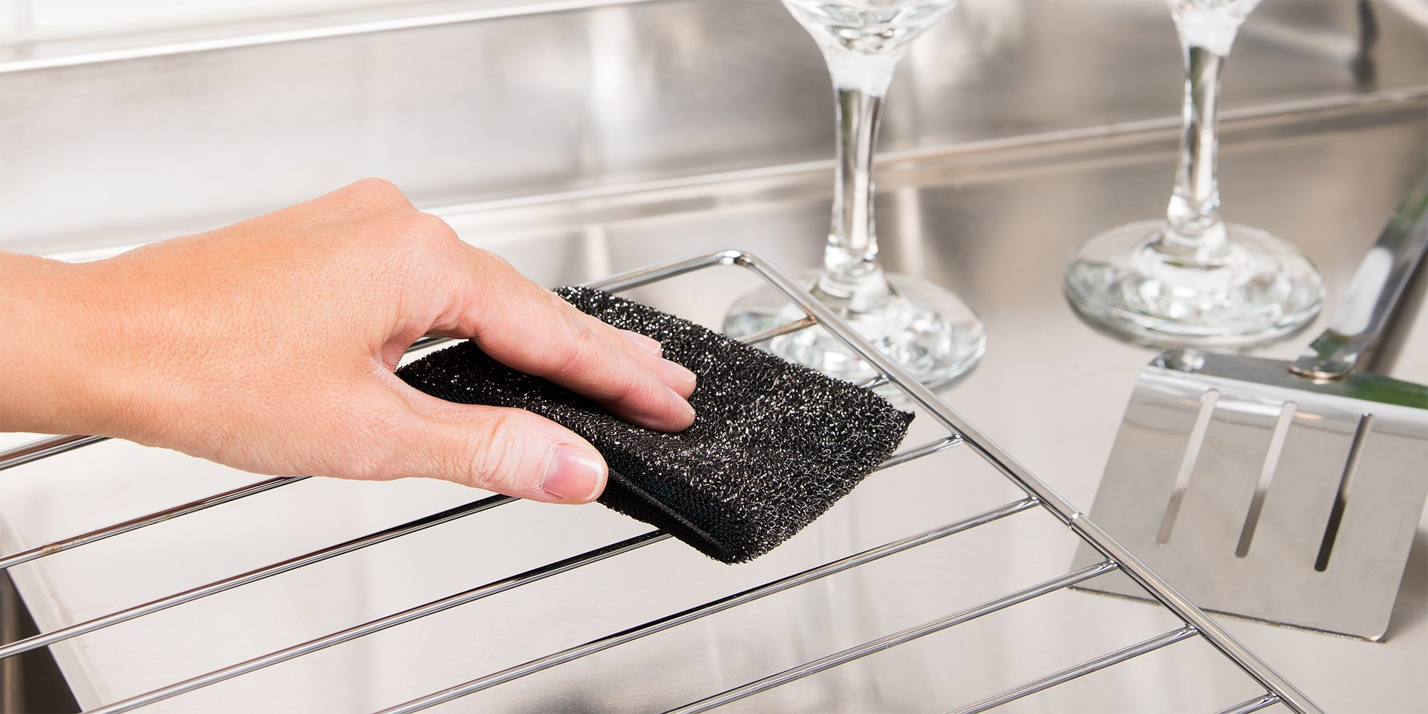Steel scrub sponge – Smart Microfiber