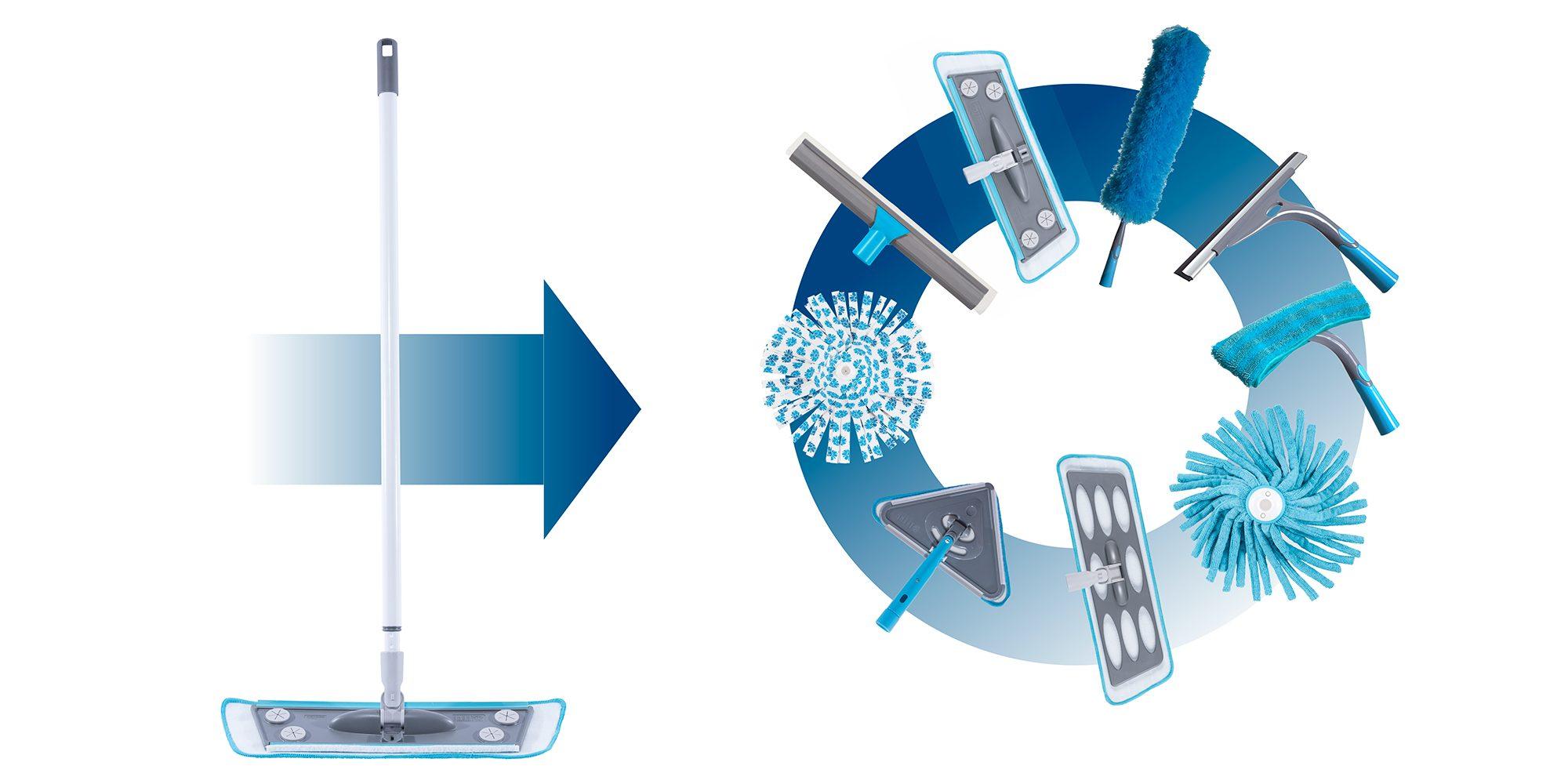 Telescopic pole – Smart Microfiber