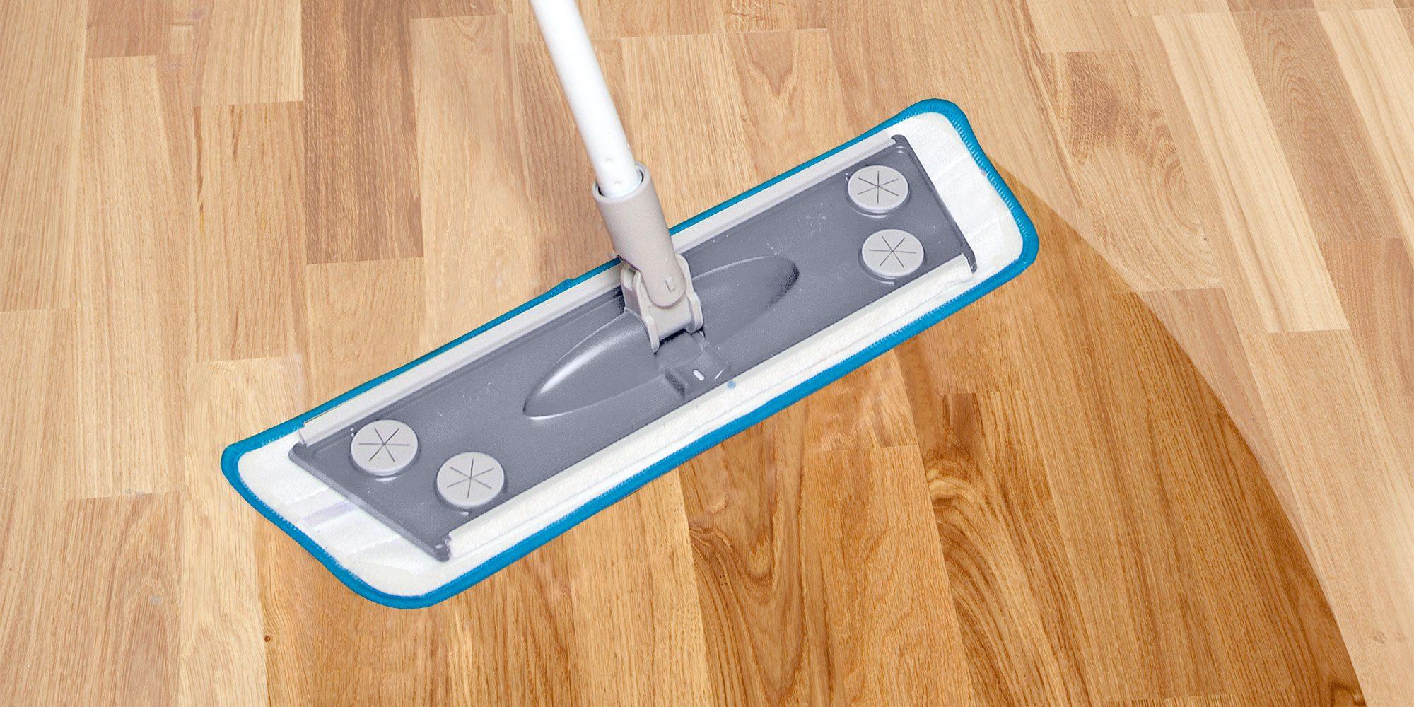 Wooden floor mop – Smart Microfiber
